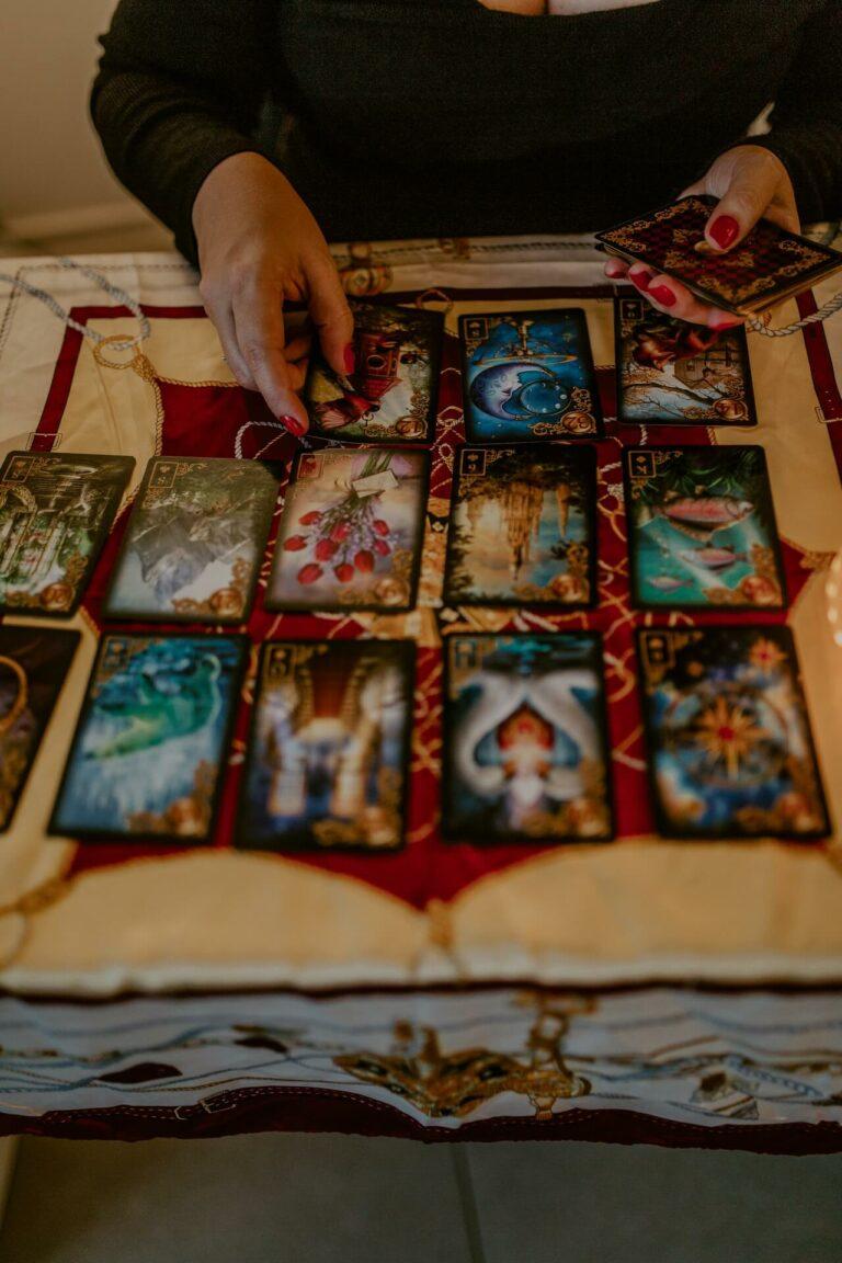 wrozka online tarot Warszawa